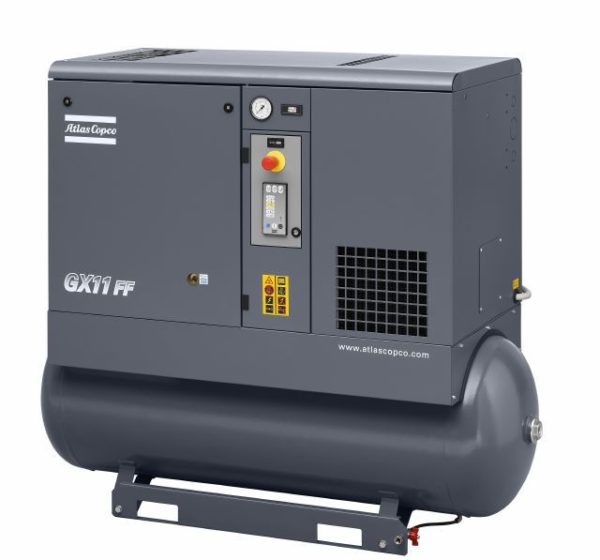 GX 11 EL FF (version 2007) Oil-injected rotary screw compressor with integrated dryer